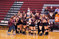 VOLLEYBALL GALAX VS BATH 11-7-12