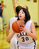 8th Grade Basketball Galax vs Fort Chiswell girls & boys