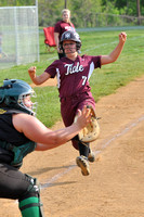 SOFTBALL GALAX at NARROWS 5-7-14