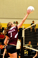 8th, JV, VAR VOLLEYBALL GALAX AT FLOYD 9-1-10