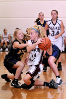 8TH GRADE BASKETBALL GALAX GIRLS VS GRAYSN 11-12-11