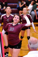 VOLLEYBALL GALAX at GEORGE WYTHE 10-6-14