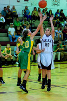 8th Grade Basketball Girls & Boys Galax vs Narrows 10-27-10