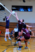 VOLLEYBALL GALAX at GRAYSON 8TH, JV, VAR. 10-12-10