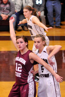 GIRLS BASKETBALL GALAX at GEORGE WYTHE 1-21-14