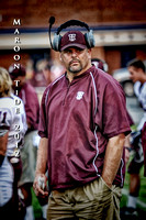 VARSITY FOOTBALL GALAX at CARROLL 8-17-12