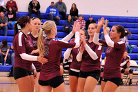 VOLLEYBALL GALAX at AUBURN 10-21-13