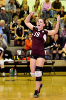 VARSITY VOLLEYBALL REGIONALS GALAX vs COVINGTON 11-9-11