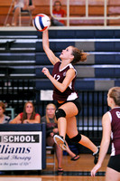 VOLLEYBALL GALAX at CARROLL 8-29-11 (JV & VAR)