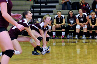 Varsity Volleyball GALAX VS BATH 11-10-11