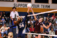 VOLLEYBALL STATE QUARTERFINAL GALAX at RYE COVE 11-15-11