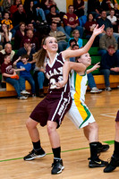 VARSITY GIRLS GALAX AT NARROWS 1-15-10