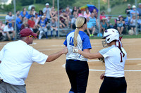 SOFTBALL GALAX at AUBURN Regional Semi-Final 6-1-16