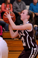 GIRLS BASKETBALL GALAX at BLAND 1-27-14