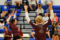 GALAX VOLLEYBALL at AUBURN 9-4-14