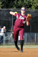 SOFTBALL CARROLL at GALAX 3-31-14