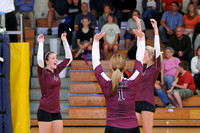 VOLLEYBALL GALAX at GRAYSON 9-25-14