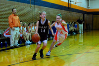 8th Grade Girls Basketball Galax at Bland 11-11-10