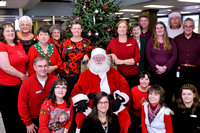BANK OF FLOYD SANTA VISIT 12-22-12