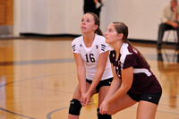 VOLLEYBALL GALAX vs FLOYD 8-27-13
