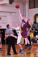 BASKETBALL GALAX at NARROWS 2-8-13