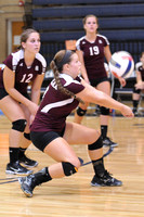 VOLLEYBALL GALAX at CARROLL 9-3-13
